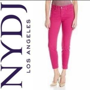 NYDJ Not Your Daughter's Pink Ankle Jeans Skinny 2